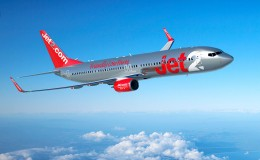 Jet2.com Aircraft in flight B-737 800